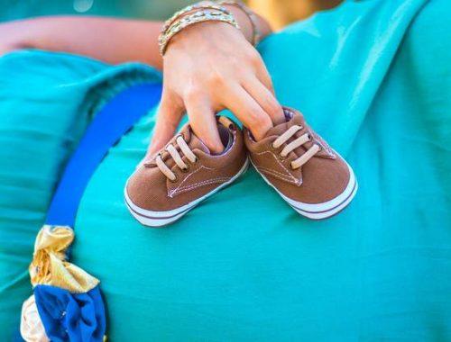 Donna incinta vestito