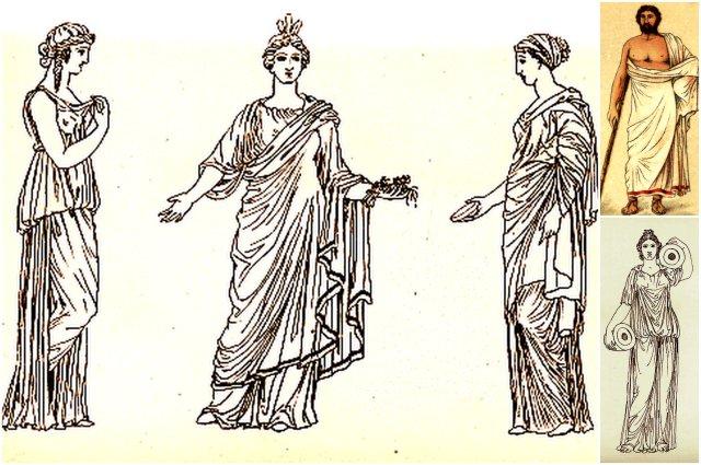 Abiti antica Grecia