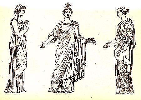 Abiti donne antica Grecia