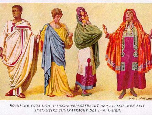 Vestiti antica Roma